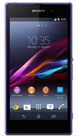 Sony Xperia Z1 Smartphone (5 Zoll (12,7 cm) Touch-Display, 16 GB Speicher, Android 4.2) violett