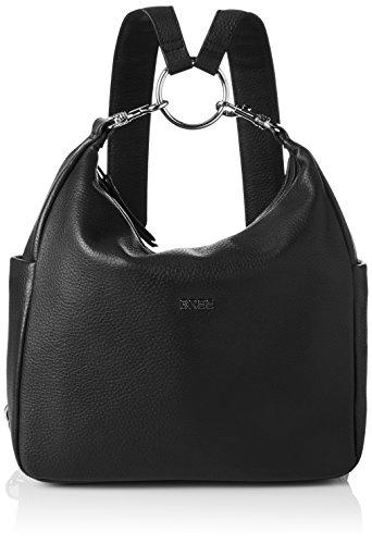 BREE Damen Nola 10 Rucksackhandtasche, 32x9x28 cm Schwarz (Black)