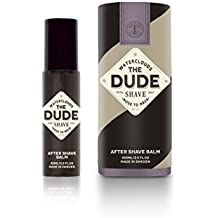 The Dude Shave – After Shave Balm (by watercl ouds) – From Nose to Neck – Made in Sweden, 50 ML