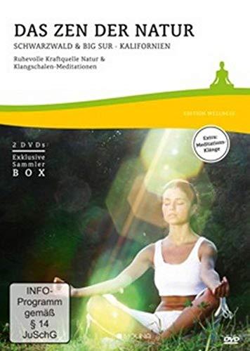 Das Zen der Natur: Schwarzwald & Big Sur · Kalifornien. Ruhevolle Kraftquelle Natur & Klangschalen-Meditationen (2-DVD-Box)