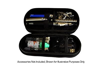 eGo Electronic Cigarette Rigid Zipper Case in Blue -Large from eGo