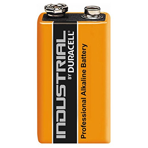 Duracell Industrial Alkaline Batterien 9V/MN1604/Block/6LR61 einzeln, lose 9v Volt Duracell Batterien