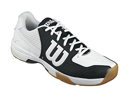 Wilson - Recon, Scarpe Da Tennis, unisex, multicolore (schwarz/weiß), 45 1/3
