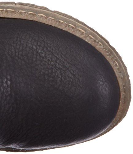 Rieker 74281, Bottes femme Noir - Schwarz (schwarz 00)