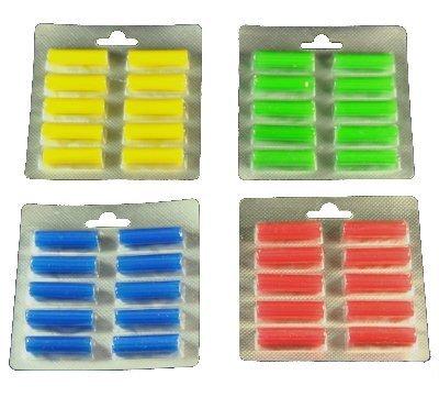 """40 Duftstäbchen Parfum.grün, gelb, blau, rot Duftis, Noten """"Sommerwiese"""", """"Lemone"""", """"Meeresbriese"""", """"Fruchtfrische"""""""