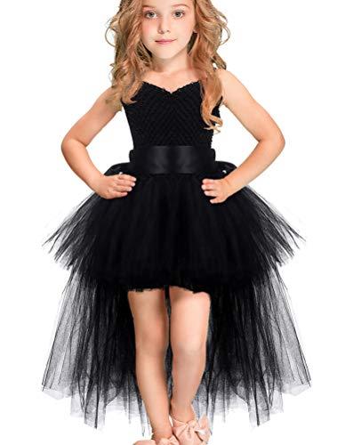 Einen Jahr Alt Kostüm Für Ein - ARAUS Mädchen Kleid Ärmlos Kostüm Abendkleid Halloween Prizessin Tutu Rock Tüllrock 2-8 Jahre alt