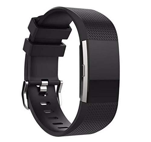 MyFitBands Armband für Fitbit Charge 2 Ersatz Qualität Stylisches Band verstellbar sicheren Verschluss