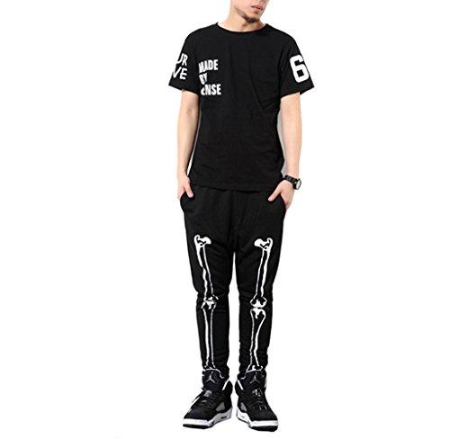 pizoff-unisex-hip-hop-pantalones-de-chandal-pitillo-con-paneles-de-esqueleto-y0714-m