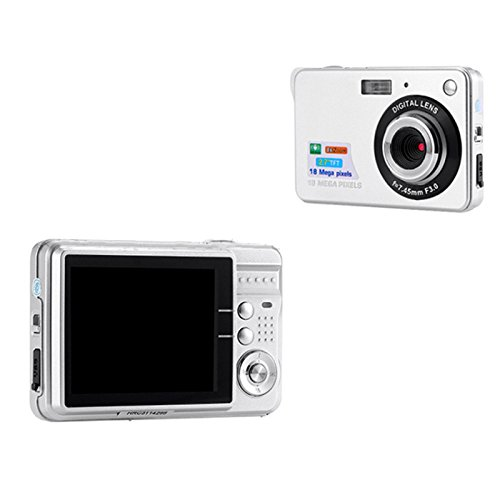 TOPmountain 720P 8X Zoom Hd Digitalkamera Digitale Videokamera Point and Shoot Digitalkamera Für Kinder Outdoorr - Weiß Digitale Point-and-shoot-camcorder