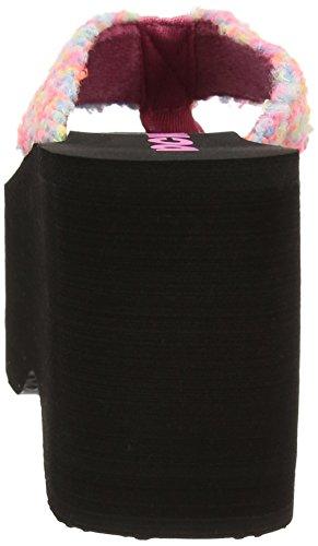 rosa Multicolour Foguete Superior Sandalen Grande multi Cão Damen de 47xqw8x6