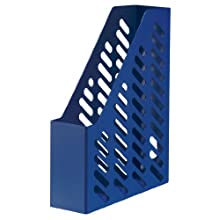HAN Stehsammler KLASSIK, DIN A4/C4, mit Sicht- und Griffloch, blau
