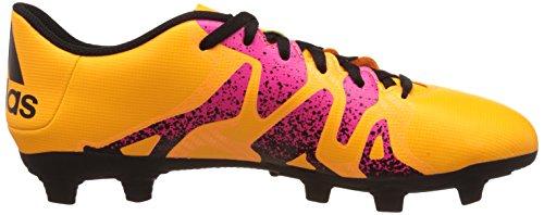adidas X 15.4 Fxg, Chaussures de Foot Homme Multicolore - Varios colores (Amarillo / Negro / Rosa (Dorsol / Negbas / Rosimp))