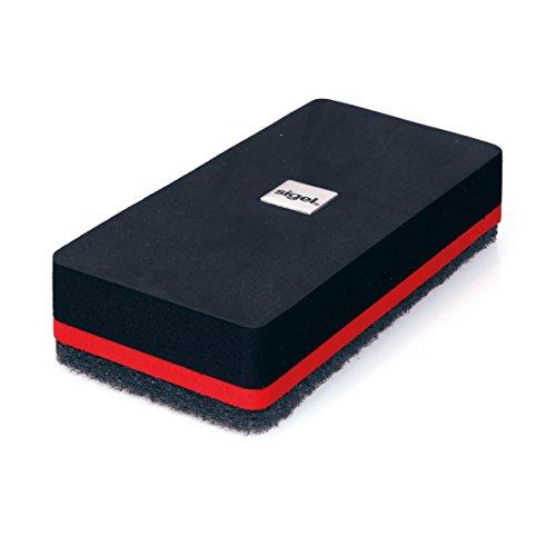sigel-gl188-effaceur-a-sec-magnetique-artverum-13-x-6-cm-noir