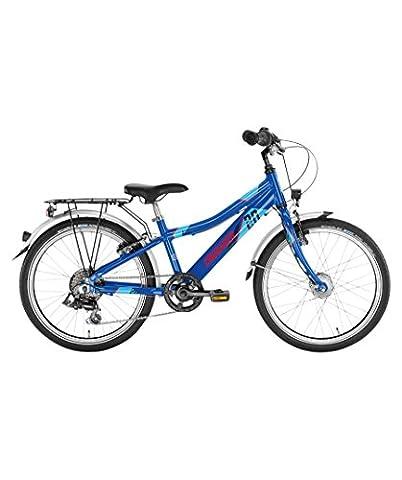 Puky Crusader 20-6 Alu Kinder Fahrrad blau