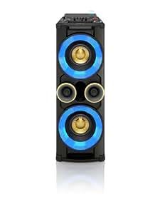Philips NTRX500/37 Mini set 650W Noir, Bleu, Or ensemble audio pour la maison - ensembles audio pour la maison (Mini set, Noir, Bleu, Or, Secteur, CD, CD-R, CD-RW, 6,3 mm, MP3)