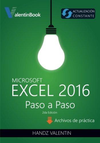 Excel 2016 Paso a Paso: (Actualización Constante) por Handz Valentin
