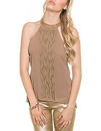Suchergebnis auf Amazon.de für  fransen - Braun   Tops, T-Shirts ... caf63ca71d
