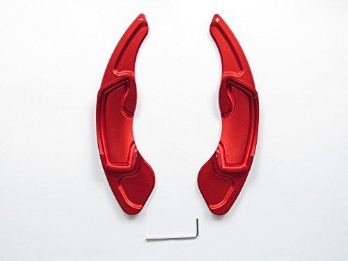 Preisvergleich Produktbild Pinalloy Rot CNC-Legierung Lenkrad Paddle Shifter Erweiterung für GT86 FRS BRZ