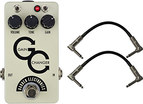 BARBER ELECTRONICS GAIN CHANGER OVERDRIVE GUITAR EFFECTS PEDAL  BLACK