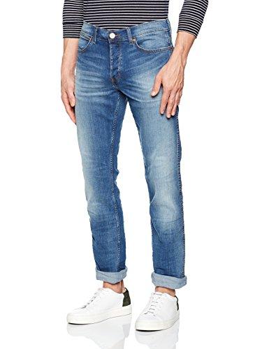 Wrangler Herren Spencer Fired Up Jeans Blau (Fired Up)