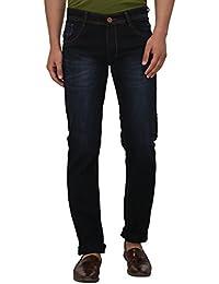 JUGEND Blue Cotton Non-stretchabele Jeans for Men