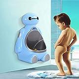 ZLMI Baby Urinal Wand Montiert Urinal Kind Stehend Urinal Boy Toilette 1-8 Jahre Altes Baby,Blue
