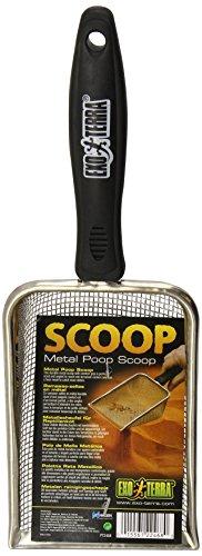 Exo Terra PT2468 Scoop - Metallschaufel für Reptilienkot