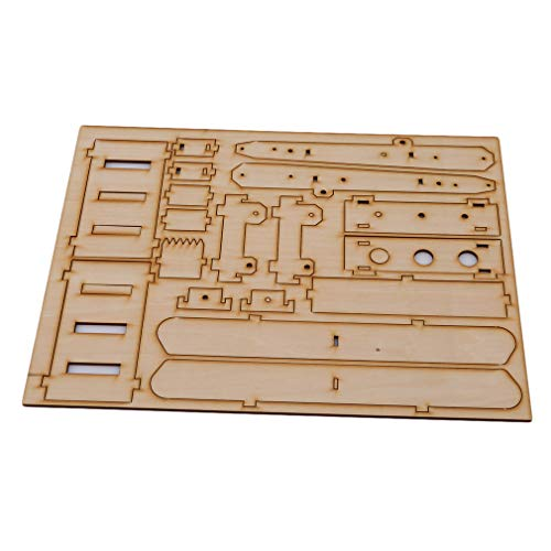 JOYfree Holz Bagger Modell Hausgemachte DIY Montage Bagger Gebäude Spielzeug Wissenschaftliches Experiment Spielzeug Kleine Erfindung Lernspielzeug Woodcraft Bausatz Geschenke