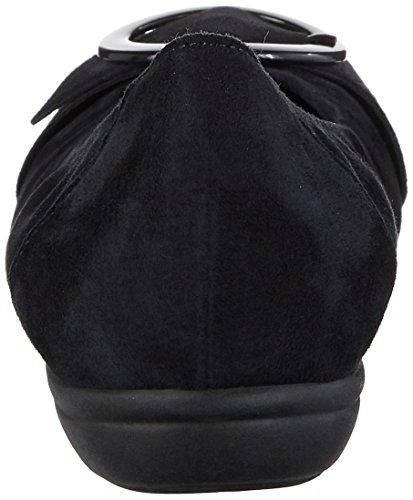 Gabor Ladies Comfort Sport Chiuso Ballerine Blu (pacifico)