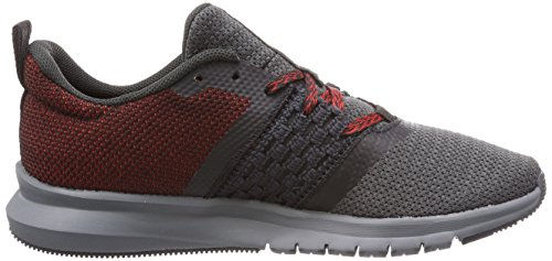 Reebok Print Lite Rush, Chaussures de Running Homme Gris (Coalalloyprimal Redwhiteblack)