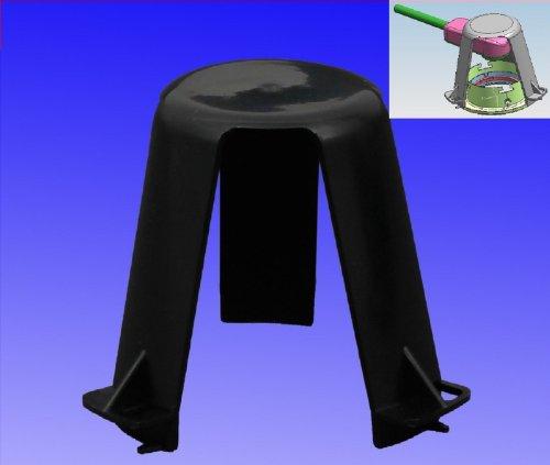 Trango® Abstandshalter Hitzeschutz TG-ASH für LED Halogen Einbauleuchten Einbaustrahler Einbauspots