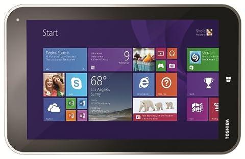 Toshiba Encore WT8-A-102 20,3 cm (8 Zoll) Tablet-PC (Intel Atom Z3740, bis zu 1,8GHz, 2GB RAM, 32GB eMMC, Win 8.1) sand-metallic