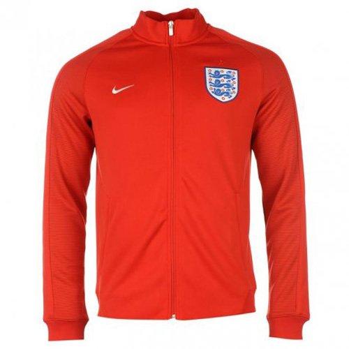 Nike Herren England Authentic N98 Trainingsjacke EM 2016 Jacke, rot/Weiß, XL/52/54 - Nike Outfit