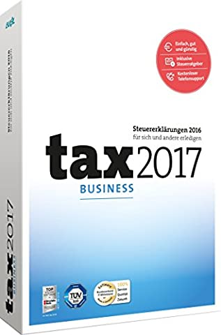 tax 2017 Business (für Steuerjahr 2016)