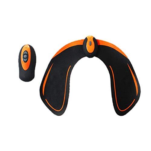 Máquina de ejercicios con vibración muscular, máquina de ejercicios con vibración muscular, control remoto inalámbrico con control remoto inalámbrico con 6 modos - Negro