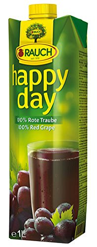 Rauch- Happy Day- 100% Rote Traube - 1l
