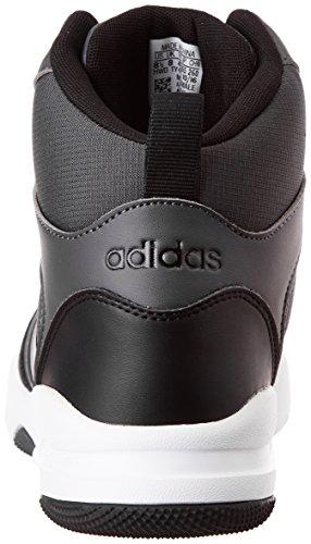 adidas neo men's cloudfoam rewind mid basketball shoes