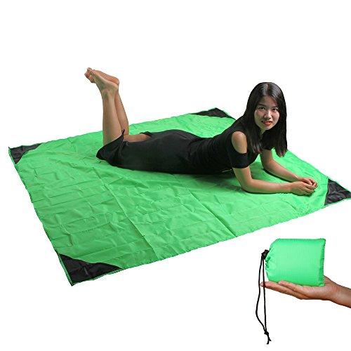 once-zy-time-pocket-decke-picknick-matte-freizeit-tabelle-strand-decke-nylon-tragbar-leicht-ultra-ko