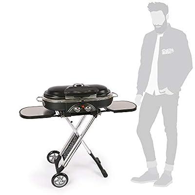 Mayer Barbecue ZUNDA Gasgrill MGG-102 Pro mit Klappwagen