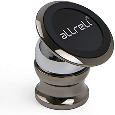 aLLreLi Supporto magnetico da auto per Smartphone, GPS [rotazione a