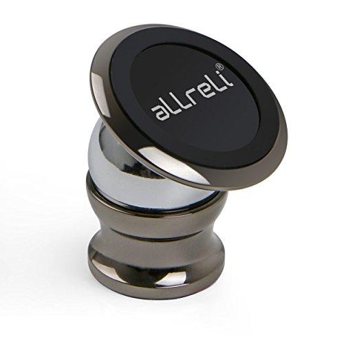 aLLreLi Support Voiture Téléphone Aimanté Universel pour iPhone 7, 7 Plus, 6, 6S, SE, 6 Plus, 6S Plus, Galaxy S7, Note 5 et d'Autres Smartphones