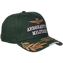 Aeronautica Militare Cappellino, Gorra de béisbol para Hombre, (Verde Bandiera 39238), Talla única