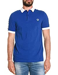 Fred Perry Homme M9570373 Bleu Coton Polo