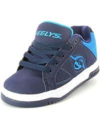 Heelys Split - Zapatillas con Ruedas - Azul Marino y Azul - 40,5