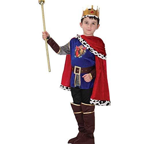 GUAN Costumi di Halloween Costume da Principe di Scena Set Costumi per - Kostüm Di Halloween Per Bambini
