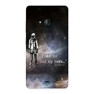 NEO WORLD No God Sky Back Case Cover for Lumia 540