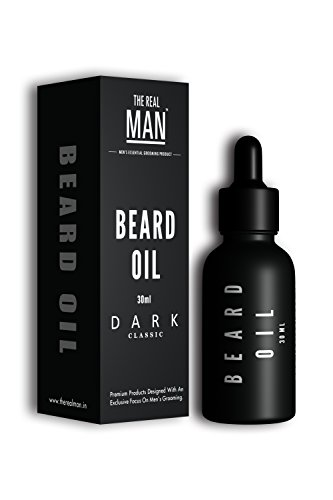 Beard & Mustache Oil Dark Classic(30ml) by THE REAL MAN
