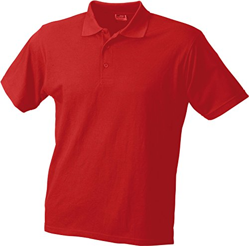 Piqué Worker Polo Red