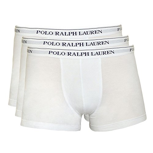 Polo Ralph Lauren Herren Pant Shorts kurzes Bein Unterhosen 3er Pack L Weiss