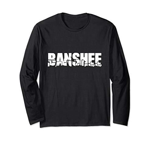 Banshee Kostüm - Banshee Lazy Halloween-Kostüm lustig Langarmshirt